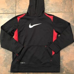 Nike hooded sweatshirt size large